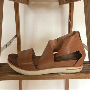 Eileen Fisher Sport Sneaker Leather Sandals
